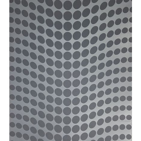 Decorline Geometric Dotty Blue Wallpaper