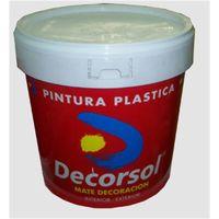 DECORSOL PINTURA PLASTICA EXTERIOR BLANCA 15L/25KG