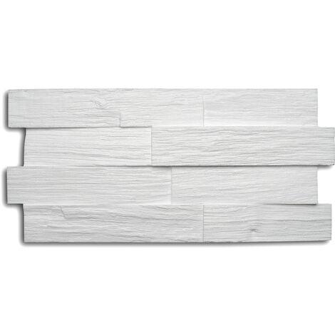 Decosa Creativpaneel Wood (Holz-Optik), weiß, 20 x 50 cm verschiedende Abnahmemengen