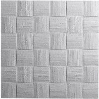 Decosa Deckenplatte Dublin, weiß, 50 x 50 cm verschiedende Abnahmemengen
