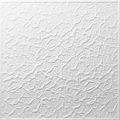 Decosa Deckenplatte Genova, weiß, 50 x 50 cm verschiedende Abnahmemengen
