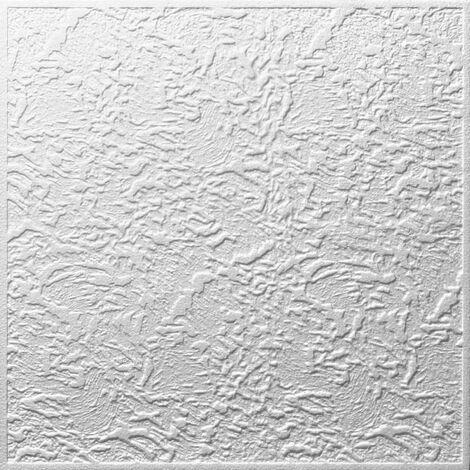 Decosa Deckenplatte Luxemburg, weiß, 50 x 50 cm verschiedende Abnahmemengen