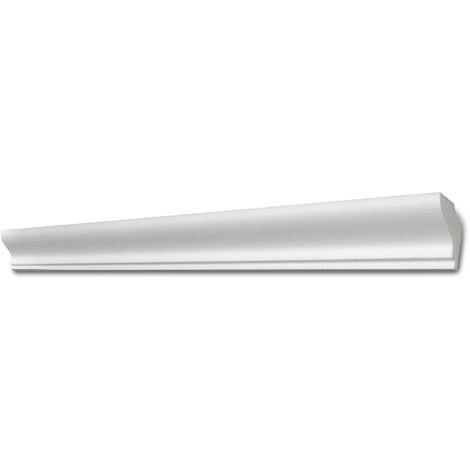 Decosa Lichtleiste G37 (Kristine), weiß, 33 x 41 mm Länge 2 m verschiedende Abnahmemengen