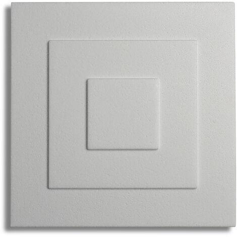 Decosa Rosette Yvonne, weiß, 32 x 32 cm verschiedende Abnahmemengen