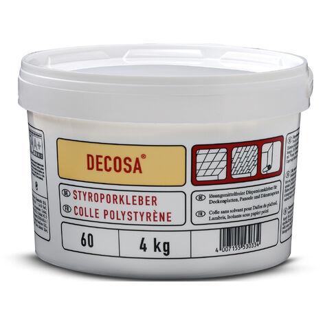 Decosa Styroporkleber, weiß, Eimer 4 kg verschiedende Abnahmemengen