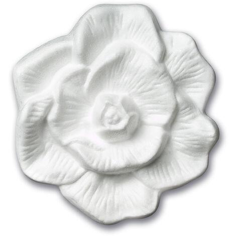 DECOSA Rosette Elisa 1 St/ück /à /Ø 42 cm wei/ß
