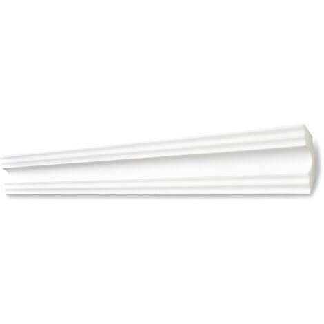 Decosa Zierprofil A50 (Sonja), weiß, 50 x 50 mm Länge 2 m verschiedende Abnahmemengen