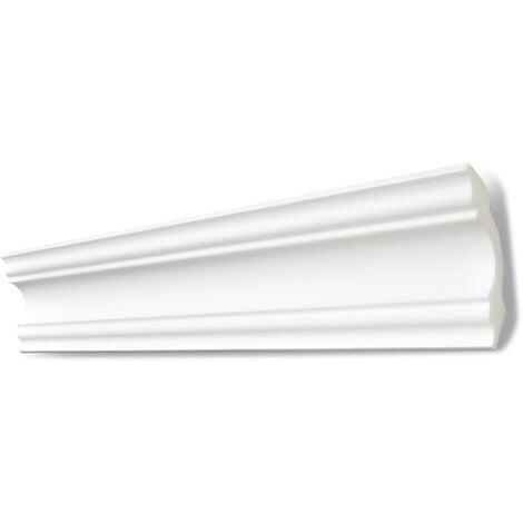 Decosa Zierprofil A80 (Stefanie), weiß, 80 x 80 mm Länge 2 m verschiedende Abnahmemengen