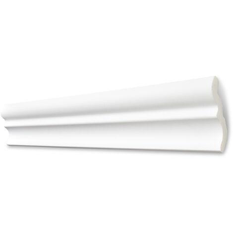 Decosa Zierprofil C80 (Serena), weiß, 70 x 75 mm Länge 2 m verschiedende Abnahmemengen