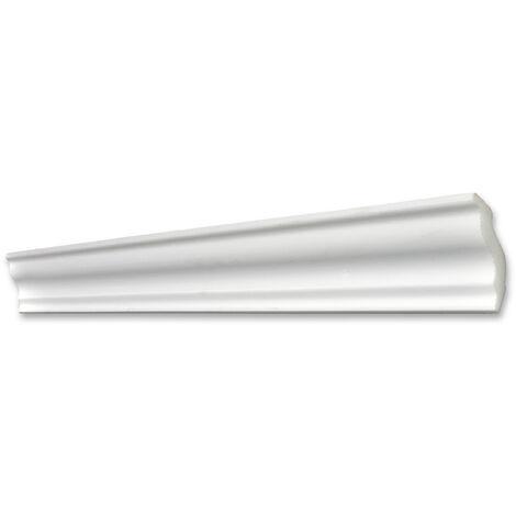 Decosa Zierprofil S50 (Sophie), weiß, 40 x 45 mm Länge 2 m verschiedende Abnahmemengen