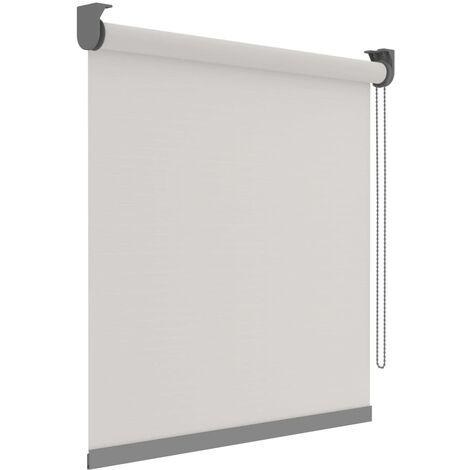 Decosol Estor enrollable Deluxe translúcido blanco patrón 150x190 cm - Blanco