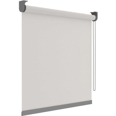 Decosol Estor enrollable Deluxe translúcido blanco patrón 90x190 cm - Blanco