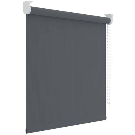 Decosol Estor enrollable opaco gris antracita 90x190 cm