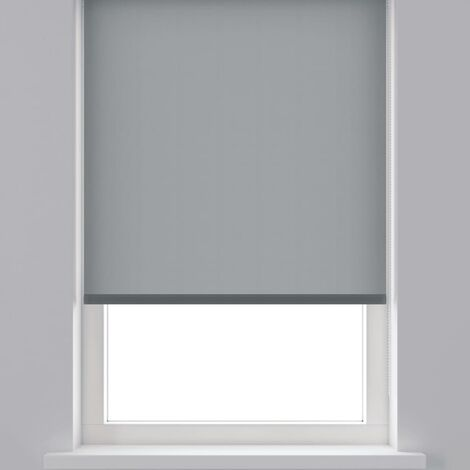 Decosol Estor enrollable translúcido gris antracita 150x190 cm - Gris