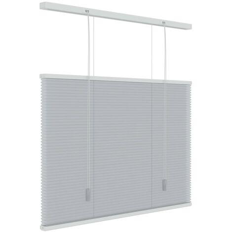 Decosol Honeycomb Blind Translucent Light Grey 80x180 cm