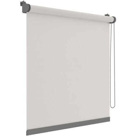 Decosol Mini estor enrollable Deluxe translúcido blanco 57x160 cm - Blanco
