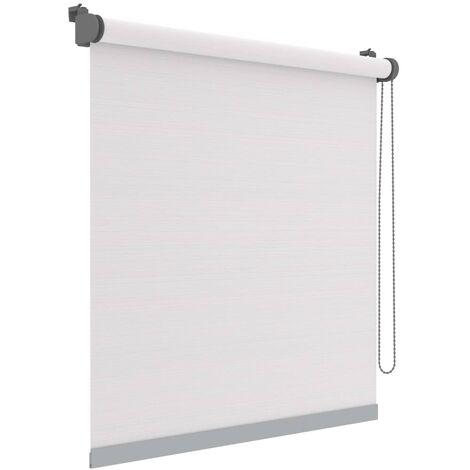 Decosol Mini estor enrollable Deluxe translúcido rayas 37x160 cm - Bianco
