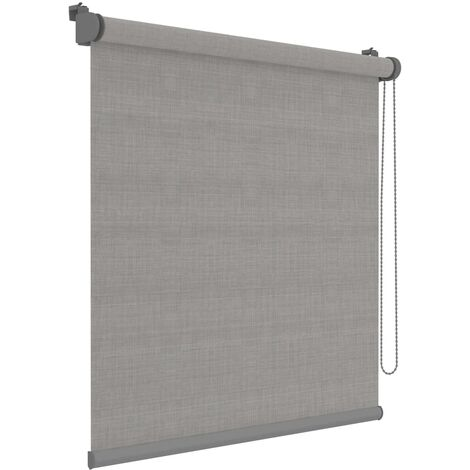 Decosol Mini Roller Blinds Deluxe Grey Translucent 42x190 cm