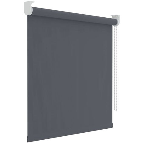 Decosol Roller Blind Blackout Anthracite 120x190 cm