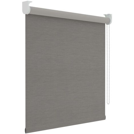 Decosol Roller Blind Blackout Grey 150x190 cm - Grey