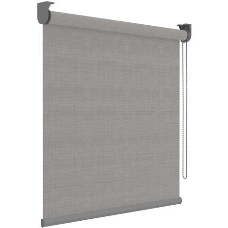 Decosol Roller Blinds Deluxe Grey Translucent 120x190 cm