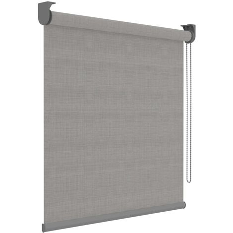 Decosol Roller Blinds Deluxe Grey Translucent 90x190 cm - Grey