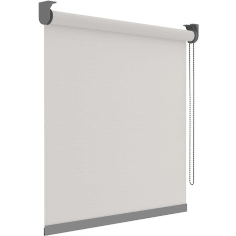 Decosol Roller Blinds Deluxe Translucent White with Pattern 90x190 cm