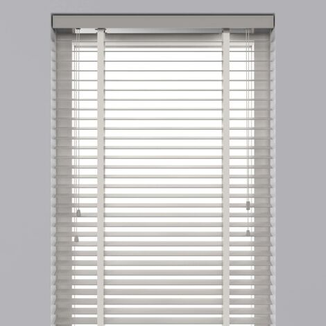 Decosol Store horizontal Bois 50 mm 100x180 cm Blanc