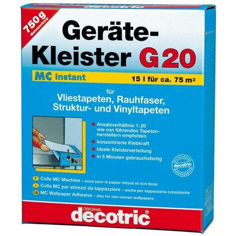 Decotric MC Gerätekleister 750 g, G20 - instant