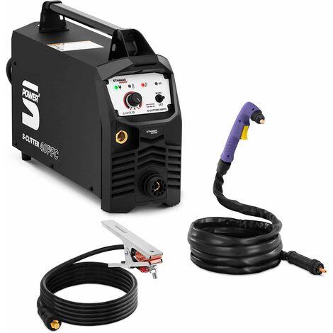 Découpeur Plasma Inverter IGBT PFC Professionnel Allumage Arc HF ? 20 mm 40 A