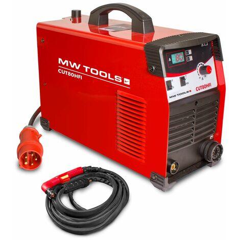 Découpeur plasma portable 80 A MW-Tools CUT80HFI