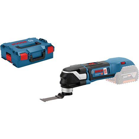 Découpeur-ponceur sans fil 18V Li-Ion sans batterie ni chargeur en coffret L-BOXX GOP 18V-28 BOSCH 06018B6001