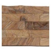 Decowall Teck Diamond Wood Natural - Parement Mural - INDO