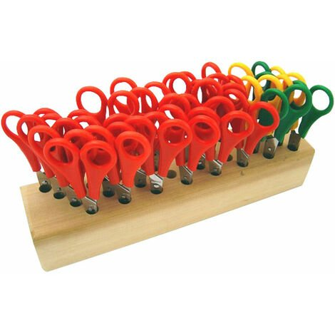 Decree Scissor Block and 32 Ruler Scissors - Left and Right-handed