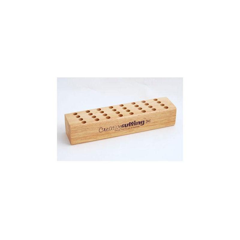 Image of Decree Wooden Scissor Block