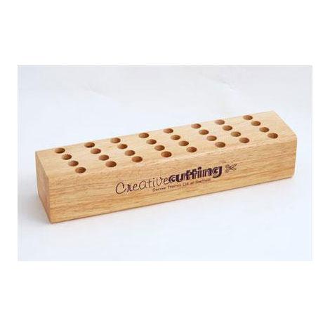 Decree Wooden Scissor Block