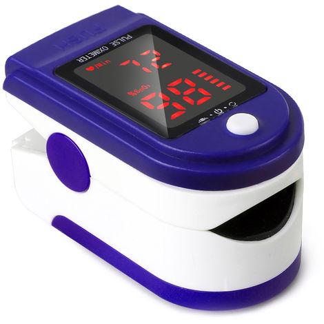 Dedo oximetro de pulso oximetro de pulso Pantalla LED Monitor Tasa detector de sangre