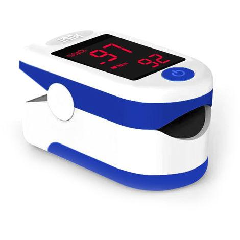 Dedo oximetro de pulso, saturacion de oxigeno de la sangre del sensor de SpO2 del monitor