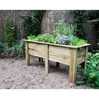Deep Root Planter 1.8m, Raised vegetable bed