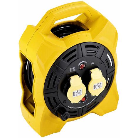 Defender Box 20mtr Cable Extension Reel 110v/16a E86540
