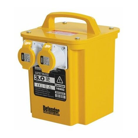 Defender E203010 3kVA Portable Transformer 110V 3000W