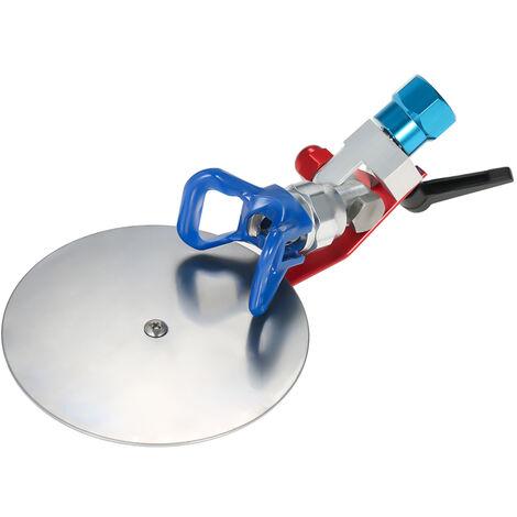 """Deflecteur de pistolet de pulverisation sans air de 7/8 """"avec accessoires de pulverisateur a base bleue"""