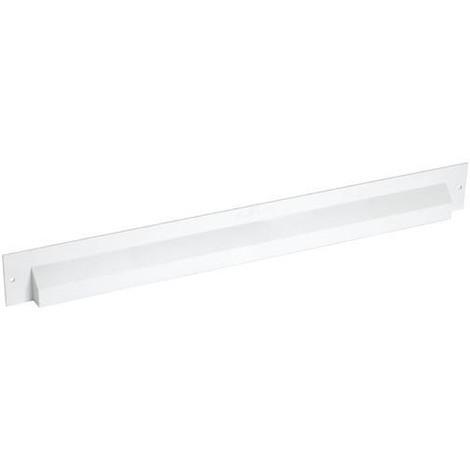 Déflecteur extérieur pour mortaise 380x34 blanc