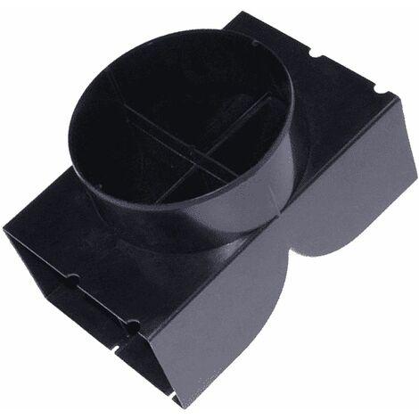 Deflecteur tuyau filtrant (C00091129, C00273130) Hotte SCHOLTES, ARISTON HOTPOINT