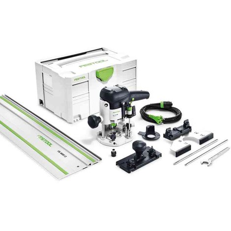 Défonceuse FESTOOL EBQ-Set OF 1010 + rail FS800 - 574375