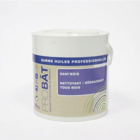 Dégraissant et désinfectant pour bois SANI'BOIS 2L - pot(s) de 2L