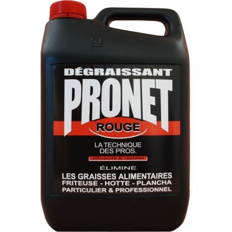 Degraissant Rouge Alimen 5 L - PRONET