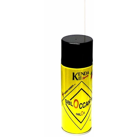 Dégrippant lubrifiant désoxydant 400 ml