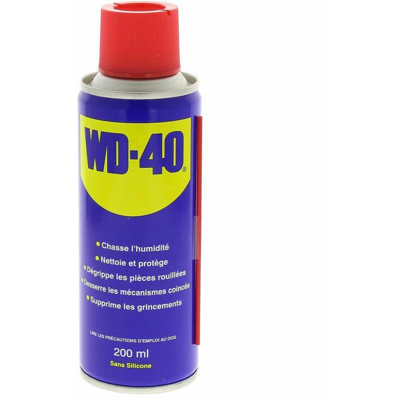 Degrippant wd-40 - 200 ml pour Meuleuse, Perceuse, Agrafeuse