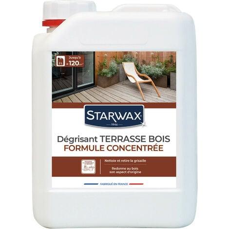 Dégrisant concentré pour terrasse en bois 2L STARWAX